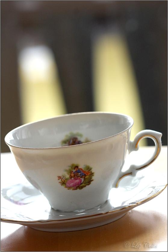 Saturday's Teatime  © Liz Collet