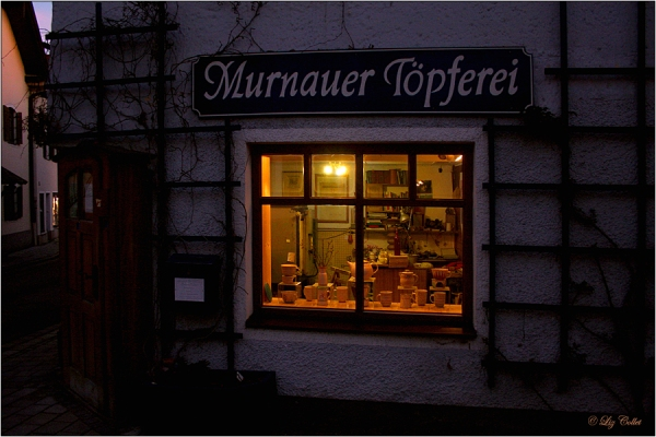 Abends im Advent in Murnau © Liz Collet