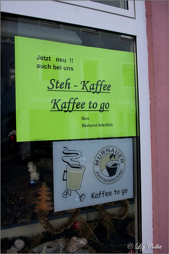 Fair Trade Coffee to go © Liz Collet